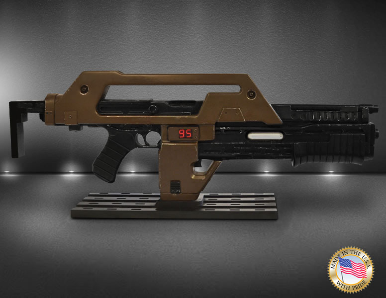 Aliens Replica 1/1 Pulse Rifle Brown Bess Weathered Ver  68 cm - Animegami  Store