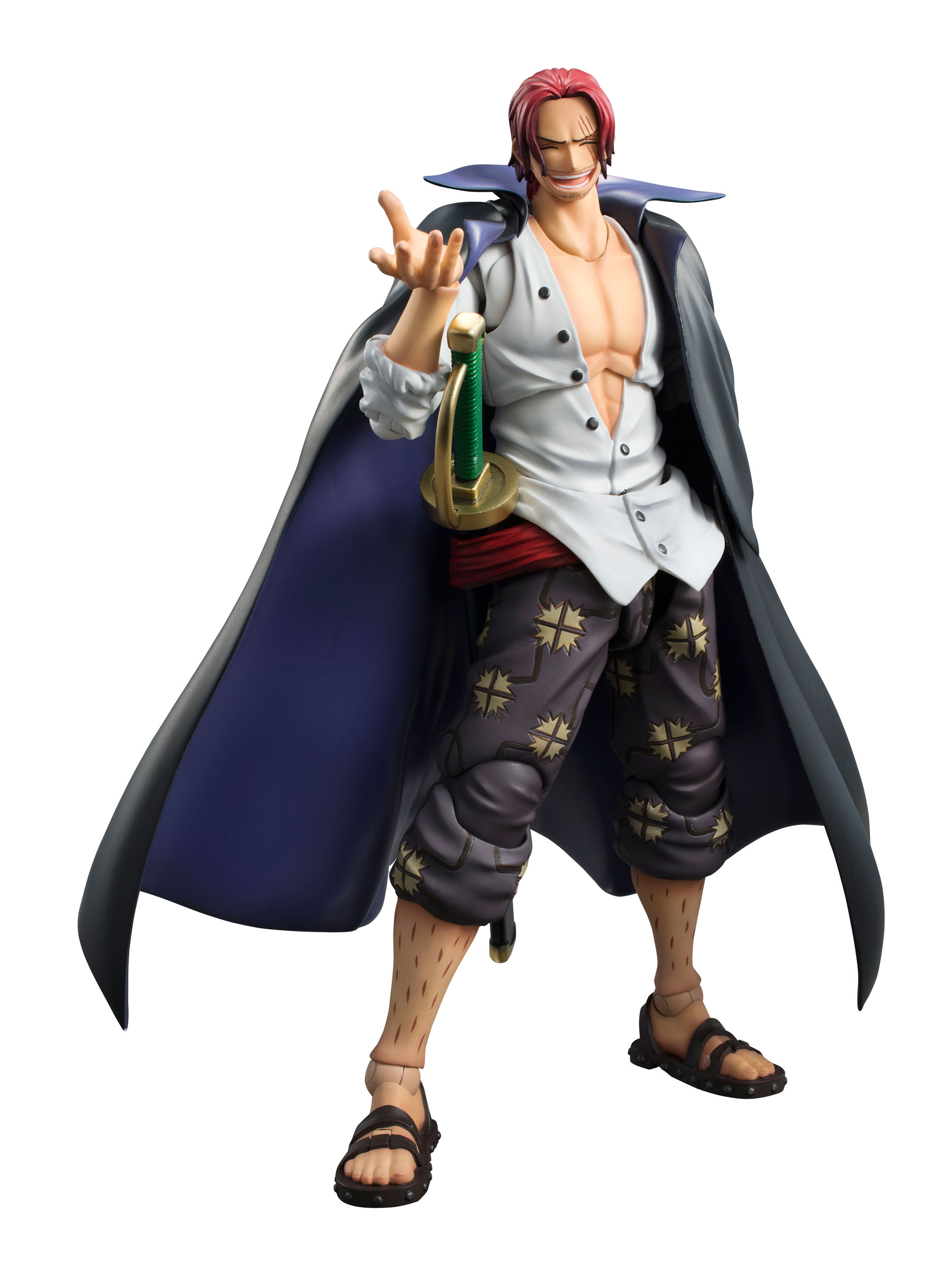 one piece variable action heroes action figure shanks 19 cm animegami store. Black Bedroom Furniture Sets. Home Design Ideas