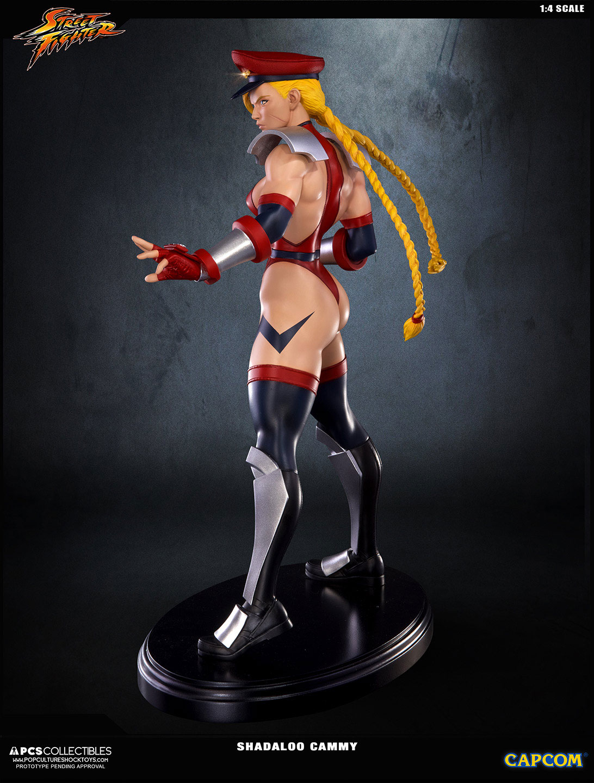 Street Fighter Iv Statue 1 4 Shadaloo Cammy 43 Cm Animegami Store Tsume Art Chunli