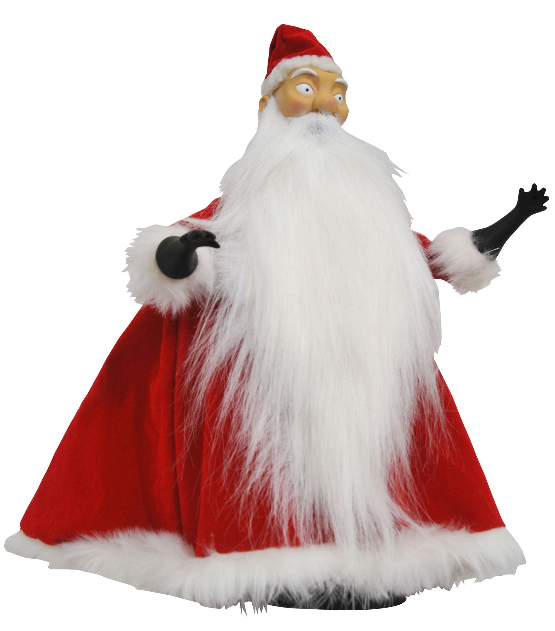 Nightmare before Christmas Doll Santa Claus 25 cm - Animegami Store