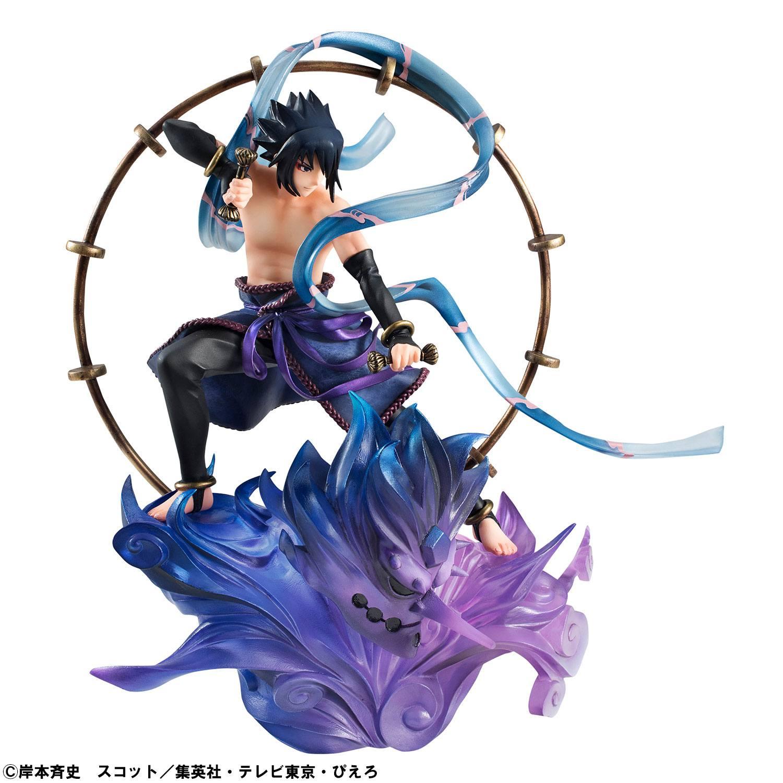 Naruto Shippuden G.E.M. Remix Series PVC Statues Sasuke ...