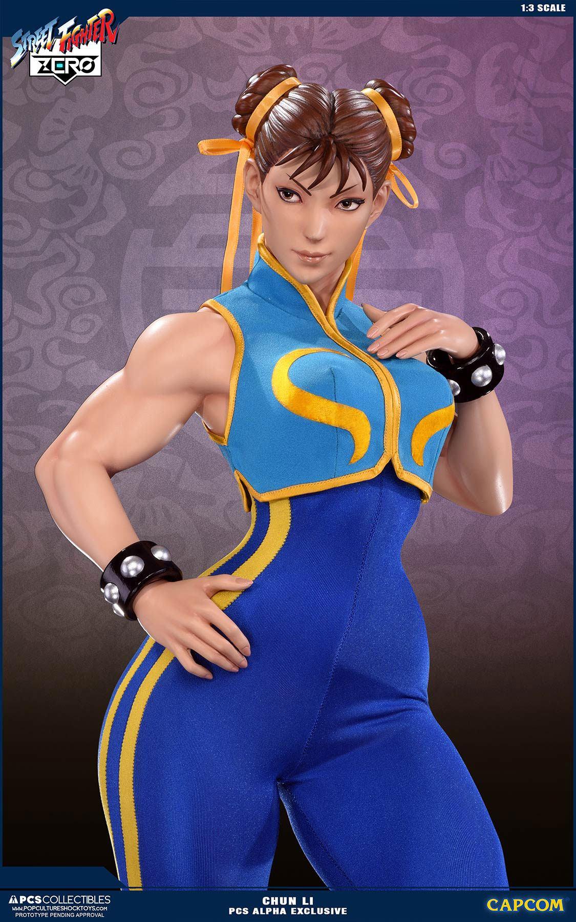 Street Fighter Alpha Statue 1 3 Chun Li Alpha Exclusive 73 Cm