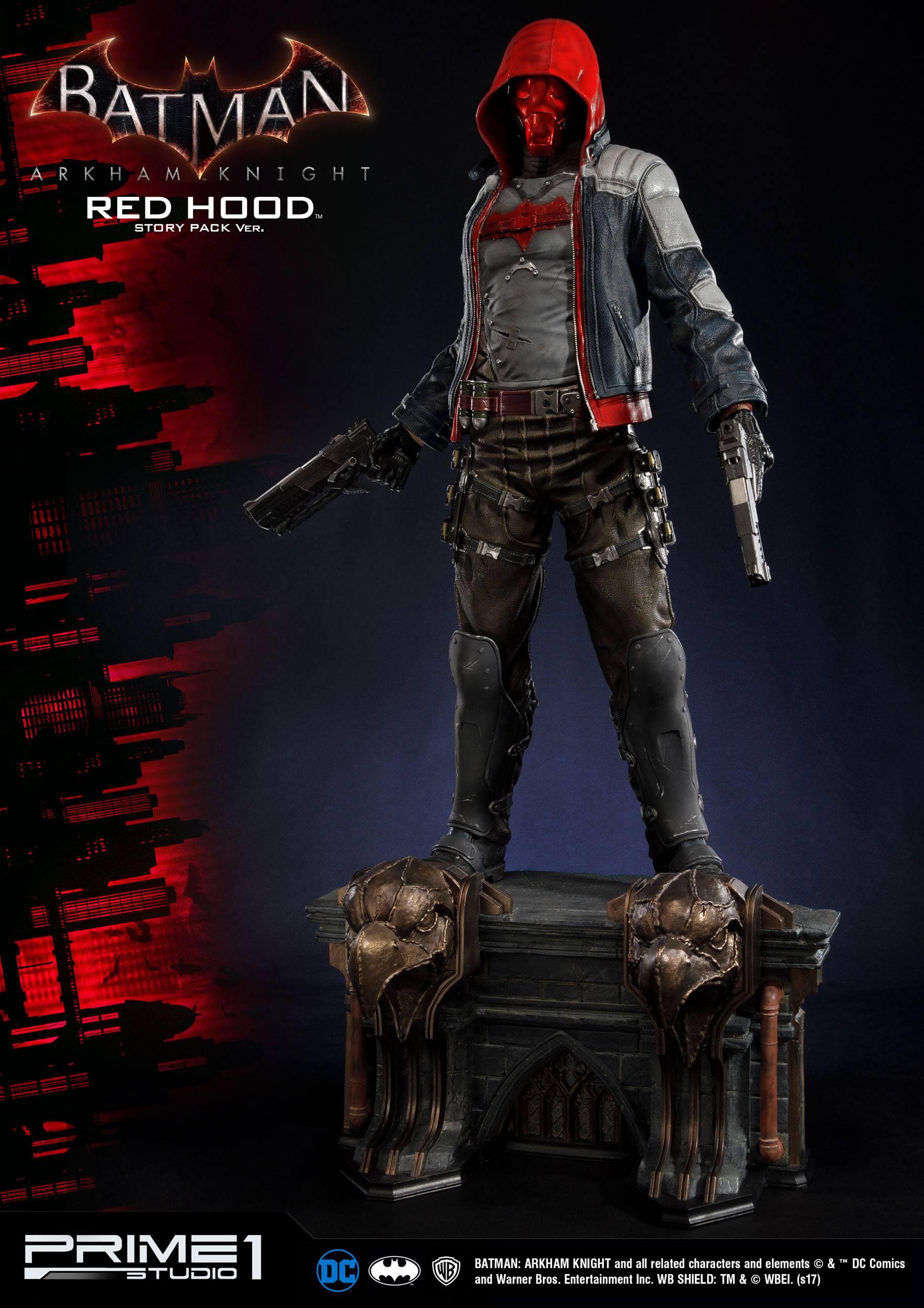Batman Arkham Knight Statues Red Hood Story Pack & Exclusive 82 cm Assortment (3) - Animegami Store