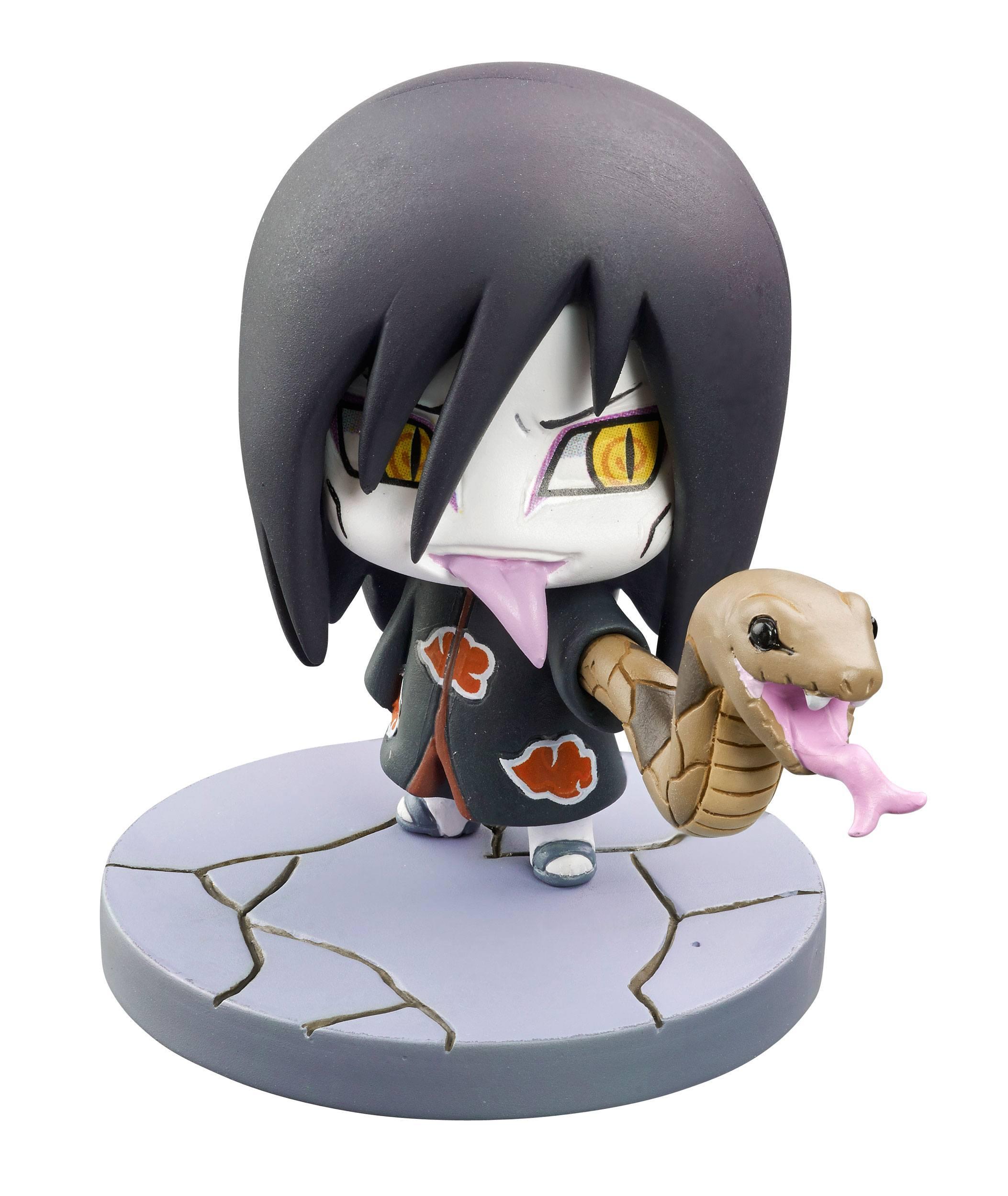 Naruto Shippuden Petit Chara Land Trading Figure 6 cm Naruto & Akatsuki  Part 2 Assortment (6) - Animegami Store