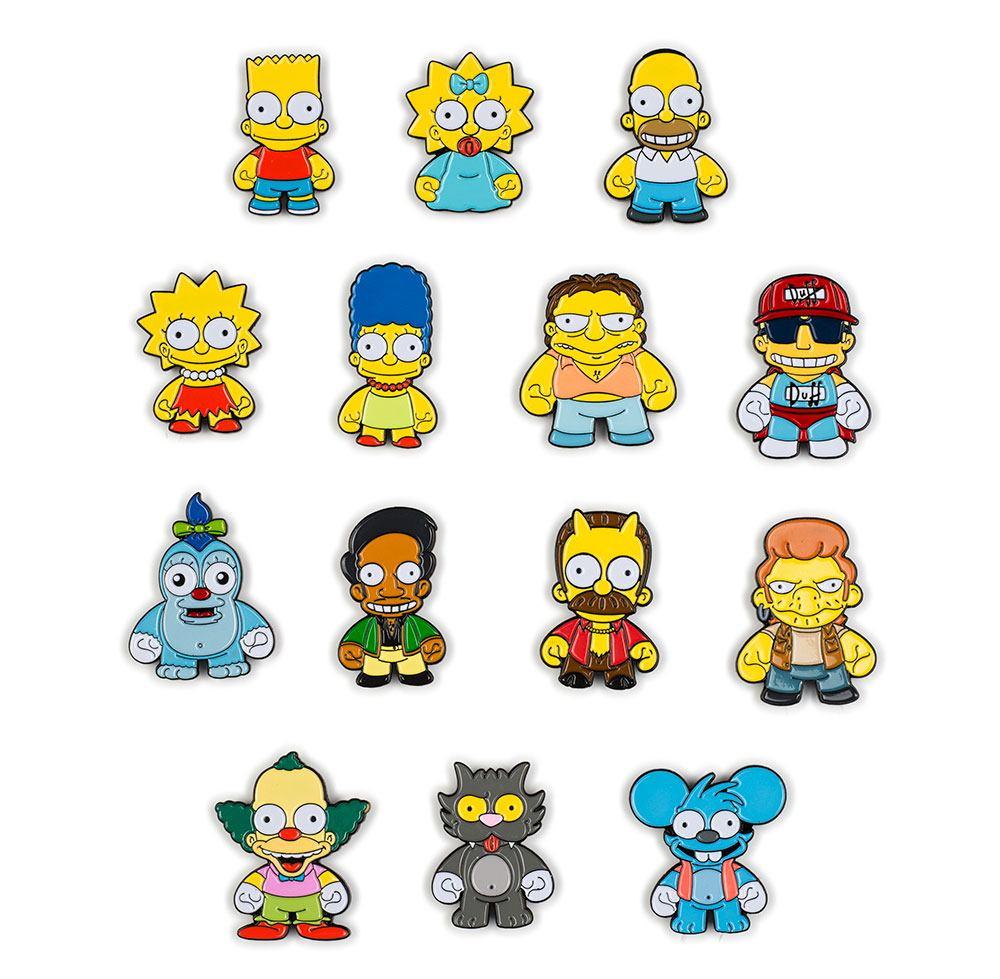 Simpsons Enamel Pins Display (20)