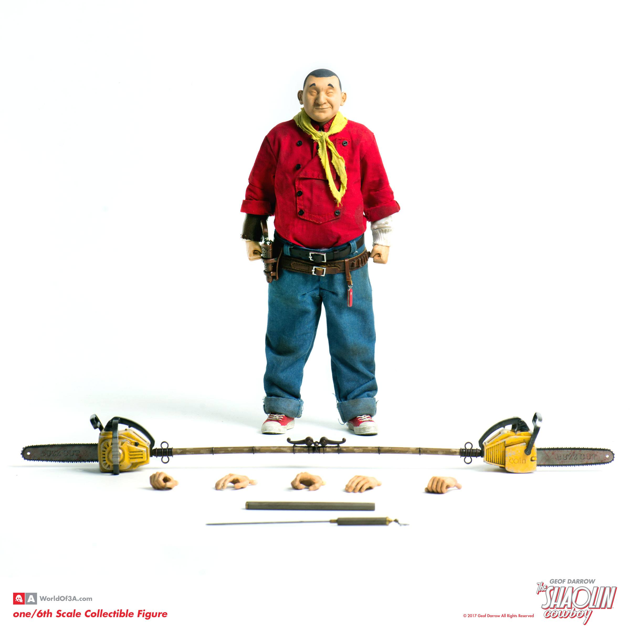 The Shaolin Cowboy Action Figure 1/6 The Shaolin Cowboy 30 cm - Animegami  Store