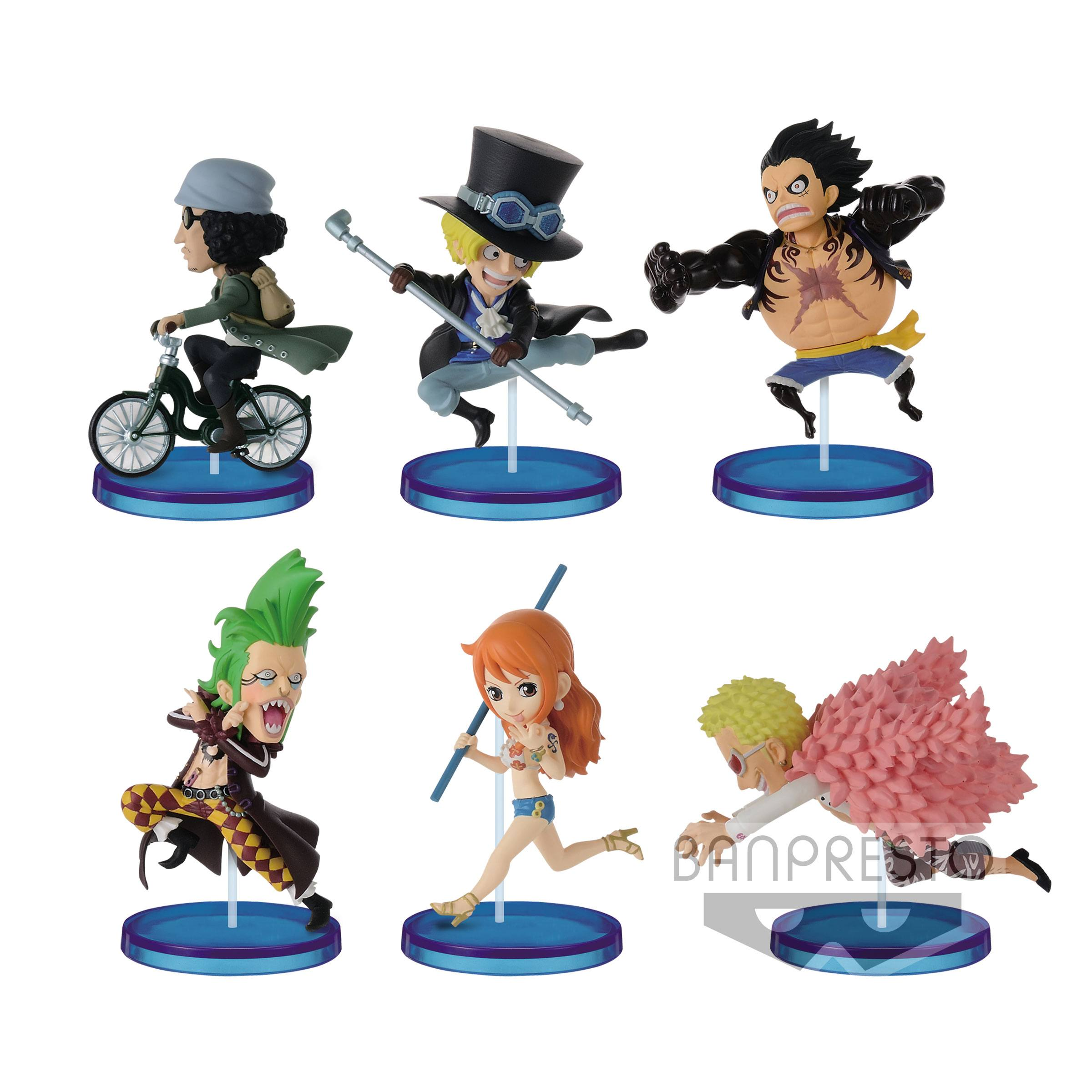 One Piece World Collectable Figure History Relay 20th vol.2 WCF Complete New