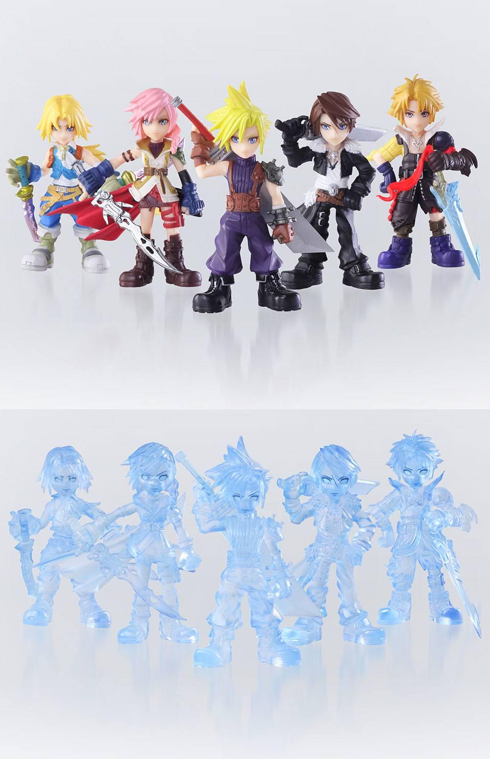Dissidia Final Fantasy Opera Omnia Trading Arts Mini Figures 5 cm  Assortment (10)