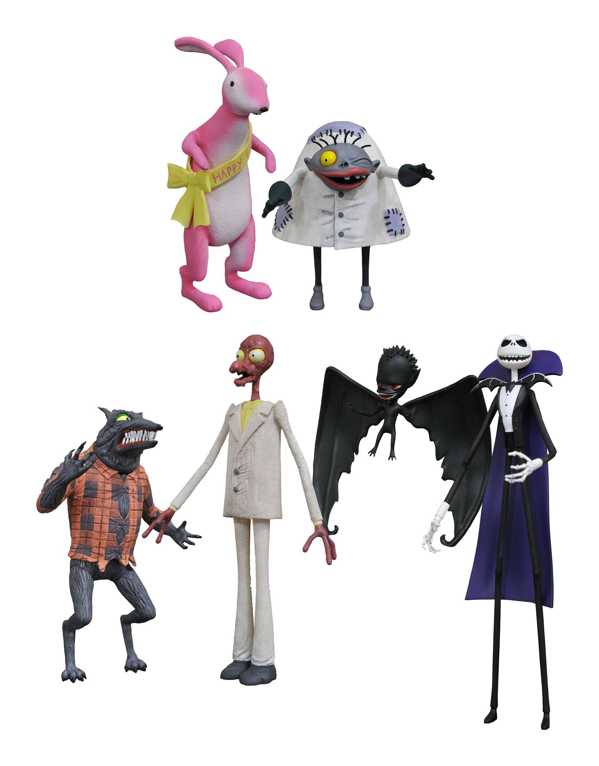Nightmare before Christmas Select Action Figures 18 cm Series 5 ...