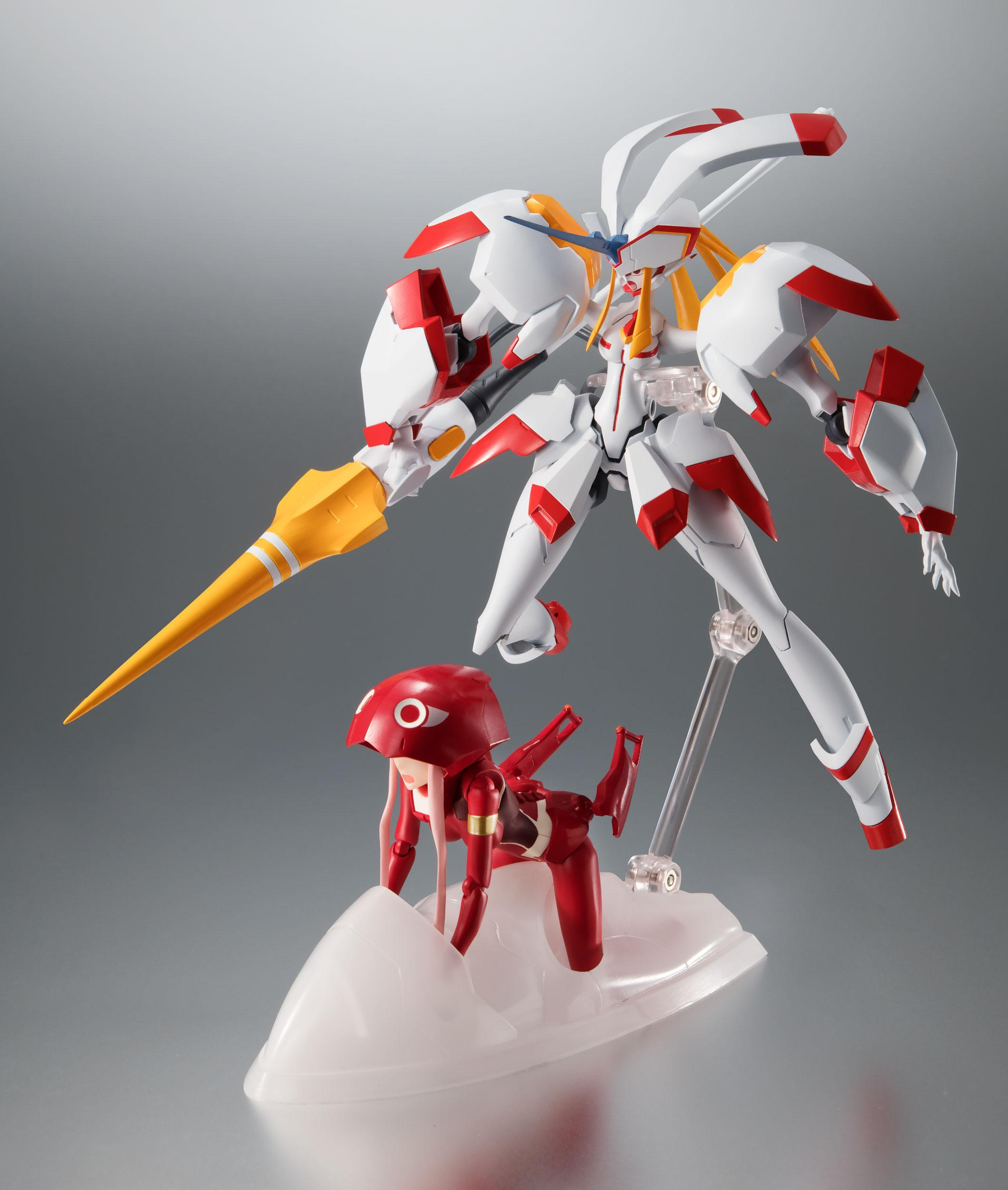 Darling in the Franxx Robot Spirits Action Figure Side ...