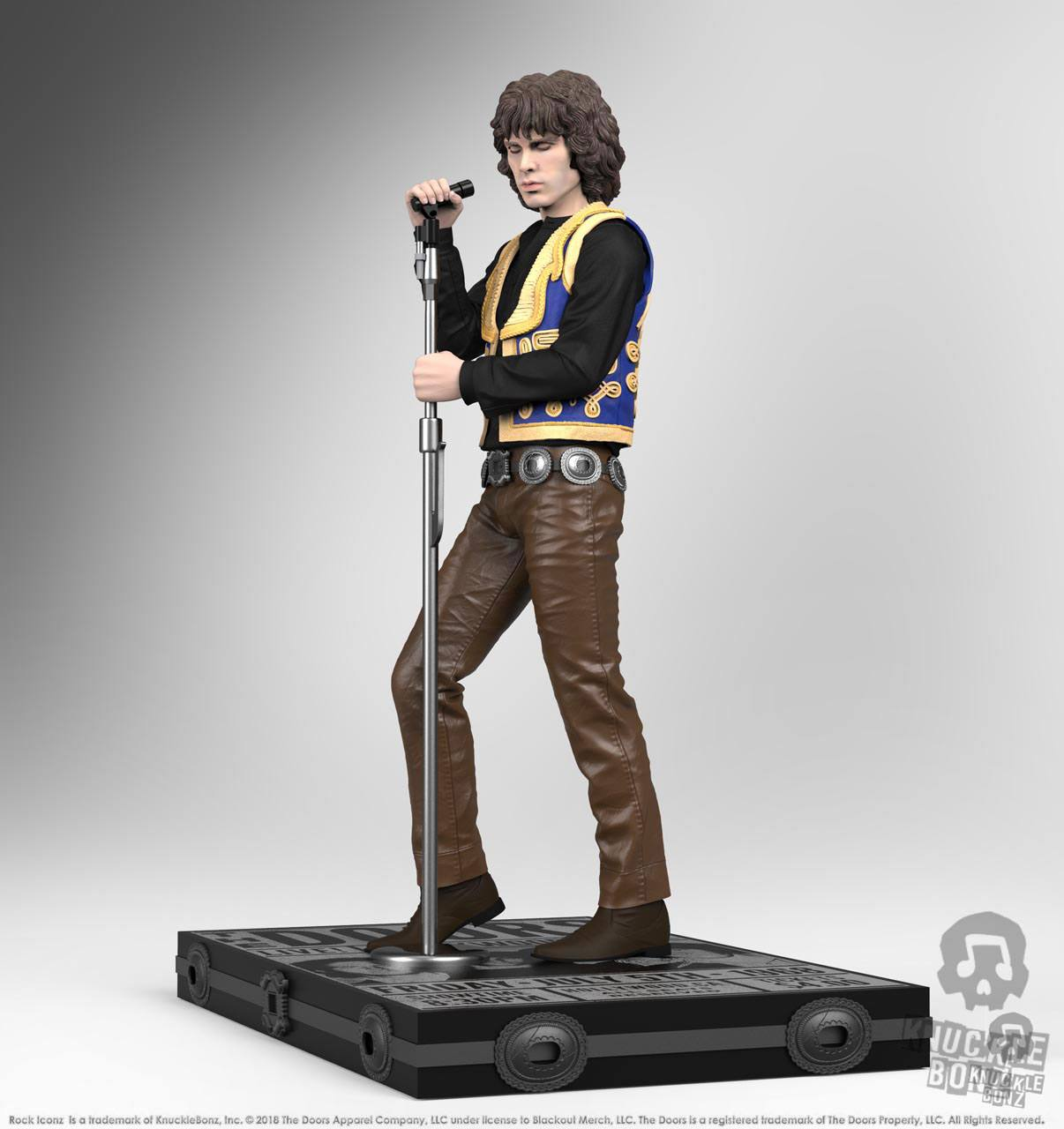 Jim Morrison Rock Iconz™ Statue Direct from KnuckleBonz The Doors