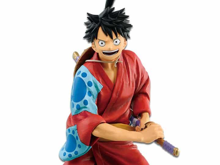 One Piece Figure Monkey D. Luffy Japanese Style 25 cm ...