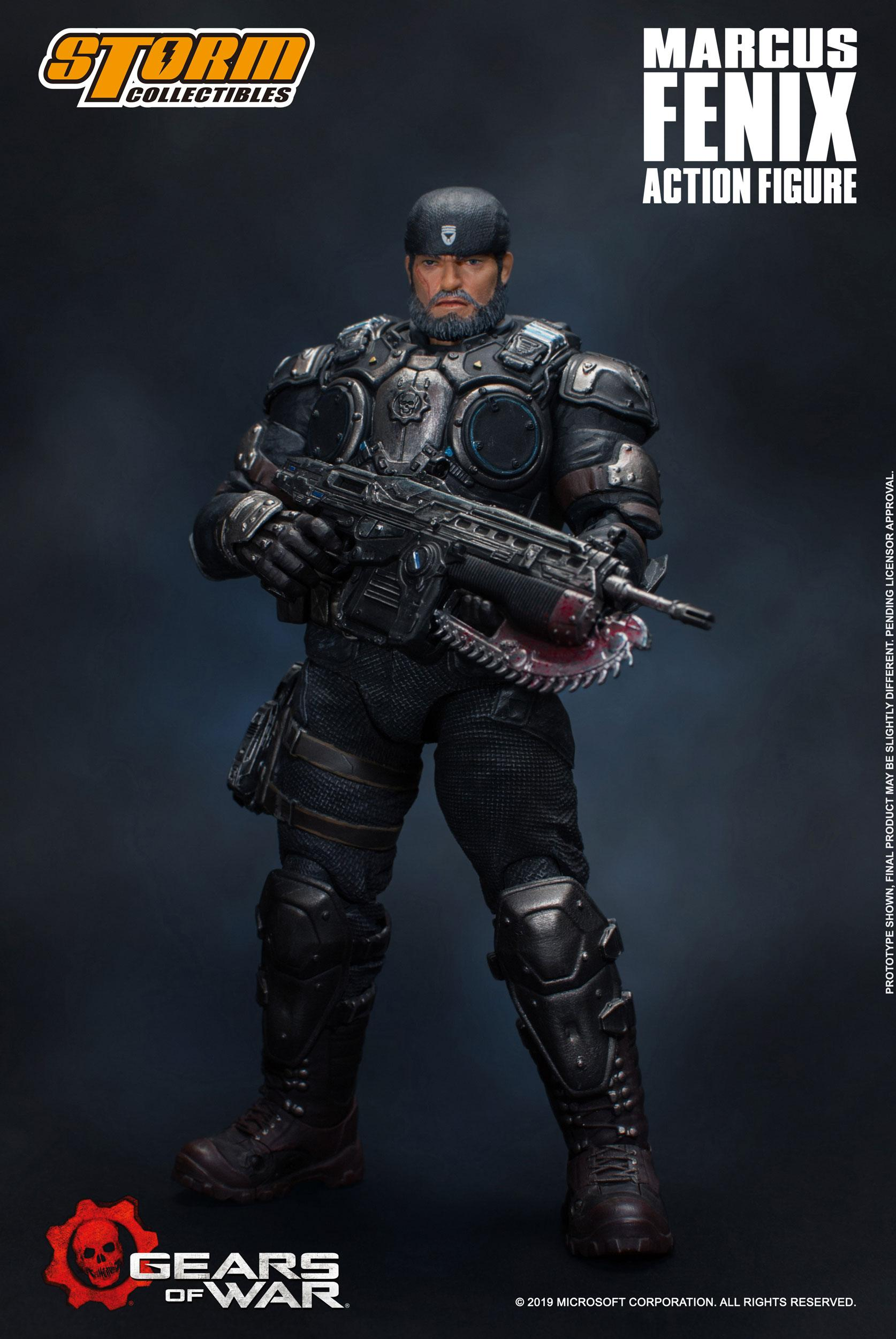 Gears Of War 5 Action Figure 1 12 Marcus Fenix 16 Cm