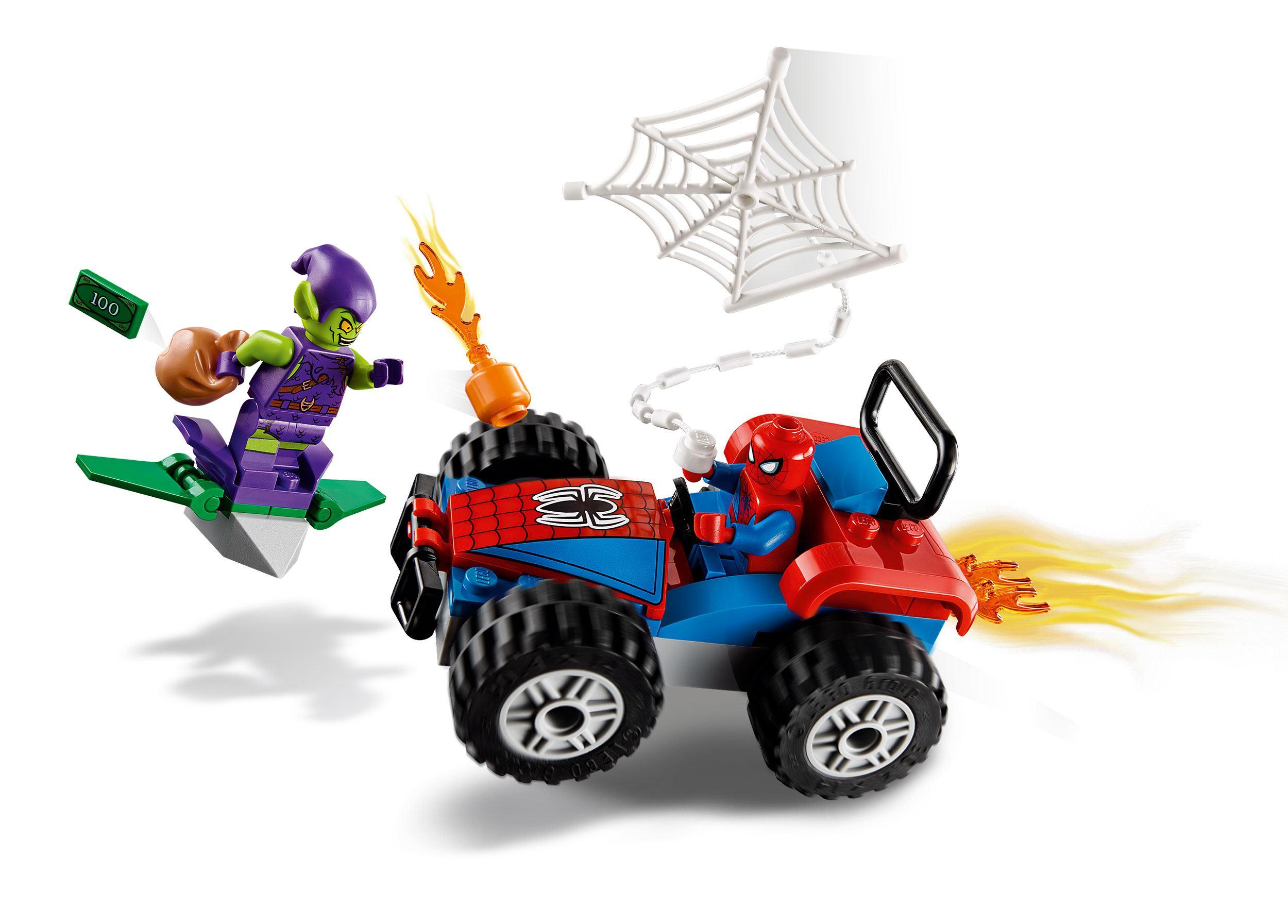 Lego Marvel Super Heroes Spider Man Car Chase Animegami Store