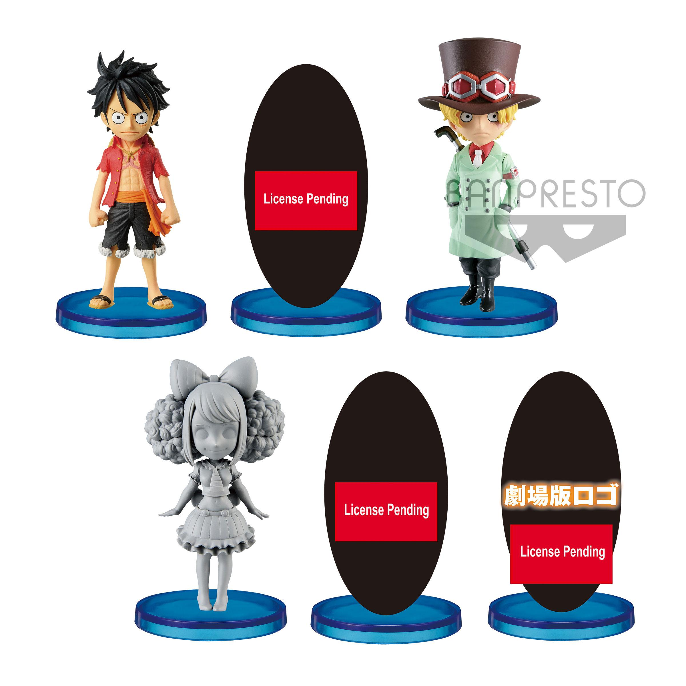 One Piece Stampede WCF ChiBi Figures 7 cm Assortment Vol  3 (28)