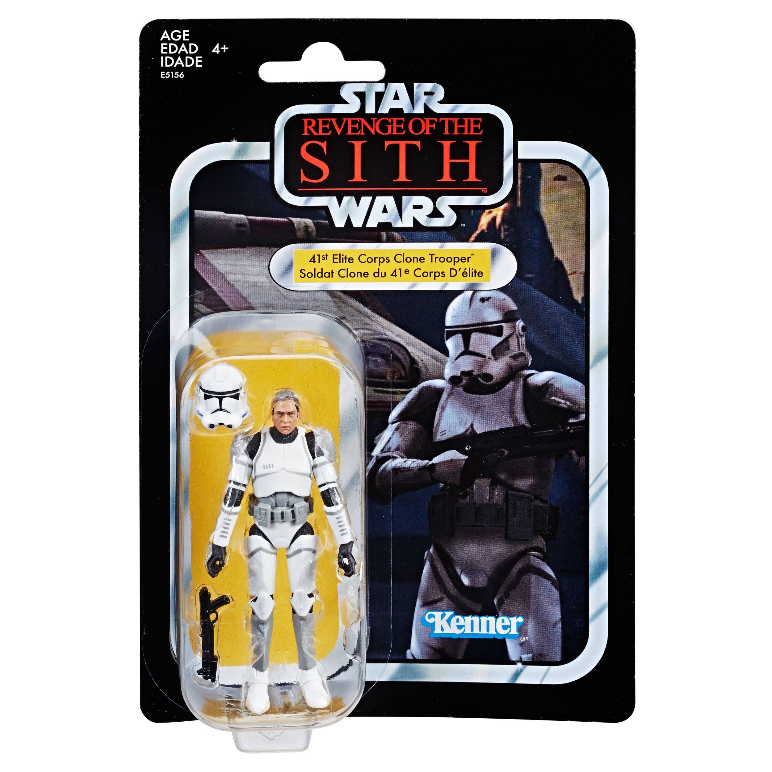 """2.5/"""" Star Wars Series 2005 Clone Pilot TROOPER Revenge Of the Sith Figure Toy"""