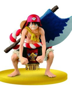 One Piece - Monkey D Luffy Big Zoukeio Special Film Gold Figure