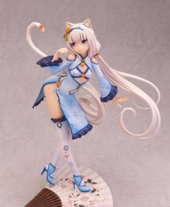 Nekopara PVC Statue 1/6 Vanilla Chinese Dress edition illustration by Sayori DX Ver. 24 cm