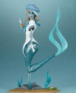 Unruly Designer Series Vinyl Statue Canary Blu by nooligan 21 cm