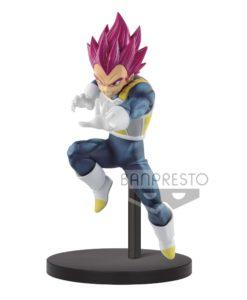 Dragon Ball Super Chosenshiretsuden PVC Statue Super Saiyan God Vegeta 13 cm