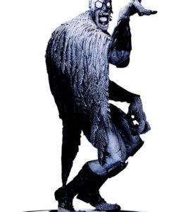 Batman Black & White Statue Batmonster by Greg Capullo 18 cm