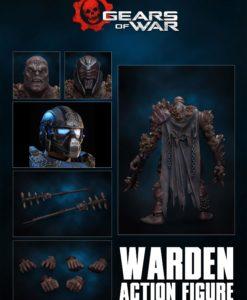 Gears of War Action Figure 1/12 Warden 18 cm