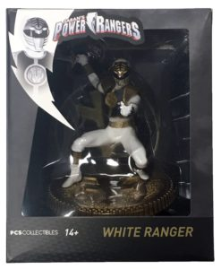 Mighty Morphin Power Rangers PVC Statue White Ranger 23 cm