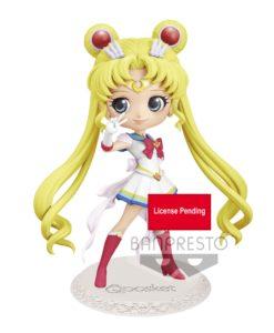Sailor Moon Eternal The Movie Q Posket Mini Figure Super Sailor Moon Ver. B 14 cm