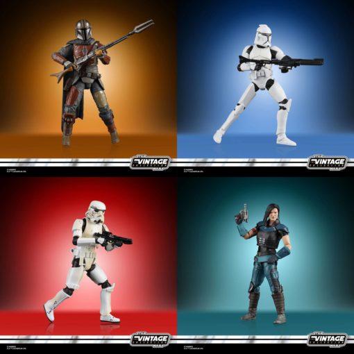 Star Wars Vintage Collection Action Figures 10 cm 2020 Wave 1 Assortment (8)