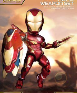 Avengers Infinity War Egg Attack Iron Man Nano Weapon Set