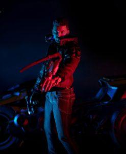 Cyberpunk 2077 Action Figure V Male & Yaiba Kusanagi Set