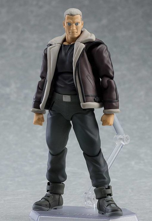 Ghost in the Shell Stand Alone Complex Figma Action Figure Batou S.A.C. Ver. 15 cm