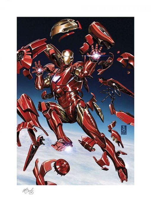 Marvel Art Print Tony Stark: Iron Man 46 x 61 cm – unframed