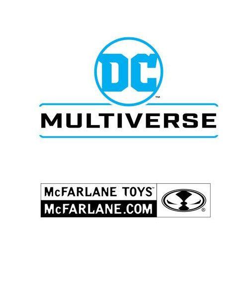 DC Multiverse Action Figure White Knight Batman 18 cm
