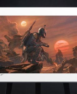 Star Wars Art Print Boba Fett: Dead or Alive 46 x 61 cm - unframed