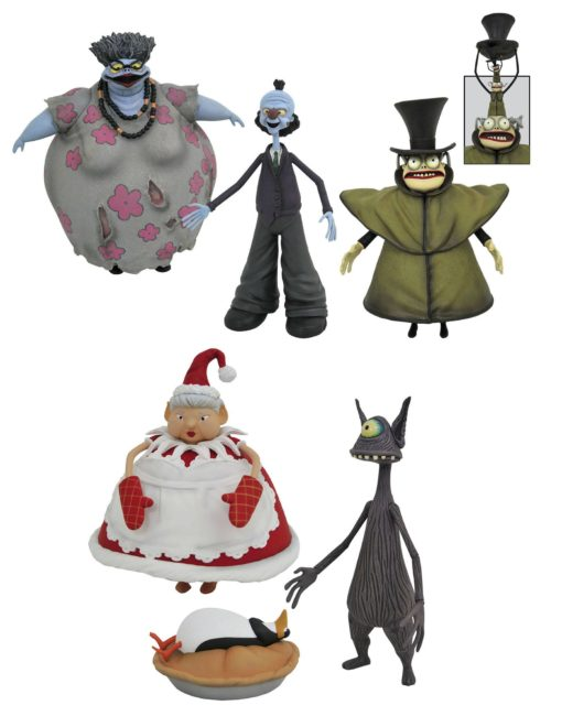 Nightmare before Christmas Select Action Figures 18 cm Series 10 Assortment (6)