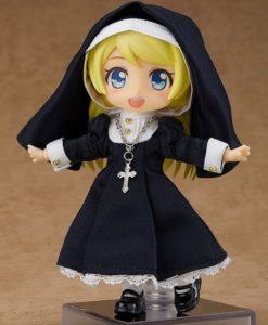 Original Character Parts for Nendoroid Doll Figures Outfit Set (Nun)