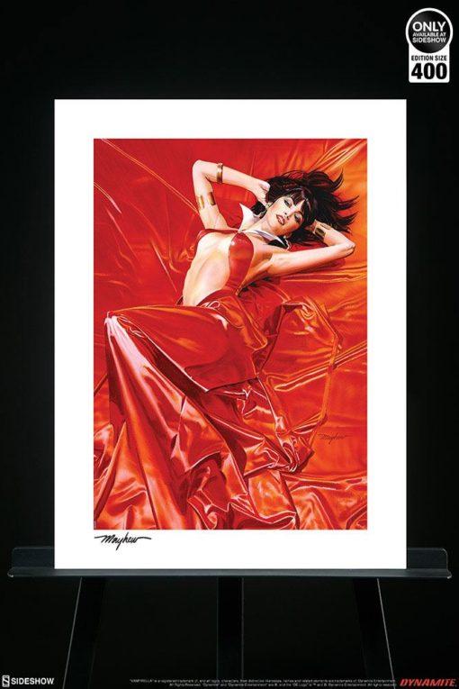 Vampirella Art Print Vampirella: Roses for the Dead 46 x 61 cm – unframed