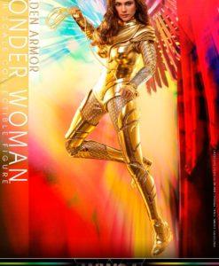 Wonder Woman 1984 Movie Masterpiece Action Figure 1/6 Golden Armor Wonder Woman 30 cm
