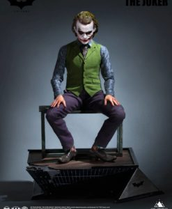 The Dark Knight Statue 1/3 Heath Ledger Joker 52 cm