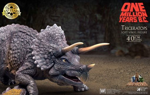 One Million Years B.C. Soft Vinyl Statue Triceratops 40 cm