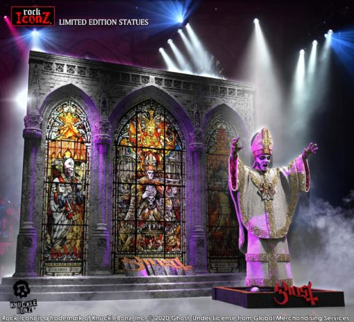 Ghost Rock Iconz Statue Papa Nihil Stage Set Limited Edition 23 cm