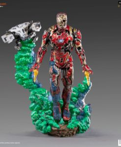 Spider-Man: Far From Home BDS Art Scale Deluxe Statue 1/10 Iron Man Illusion 21 cm