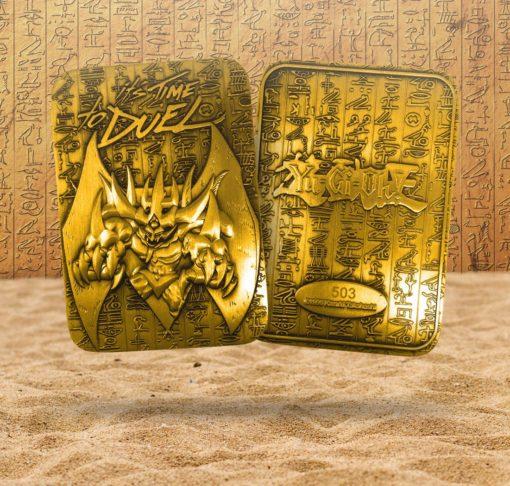 Yu-Gi-Oh! Replica God Card Obelisk the Tormentor (gold plated)