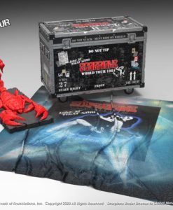 Scorpions Rock Ikonz On Tour World Tour 1984 Road Case Statue + Stage Backdrop