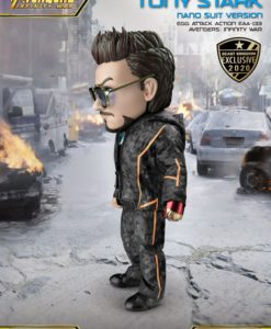 Avengers Infinity War Egg Attack Action Figure Tony Stark Nano Suit Ver. Beast Kingdom Exclusive 16