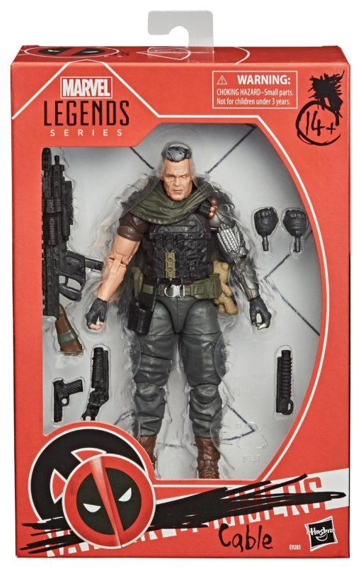 Deadpool 2 Marvel Legends Series Action Figure Cable 15 cm