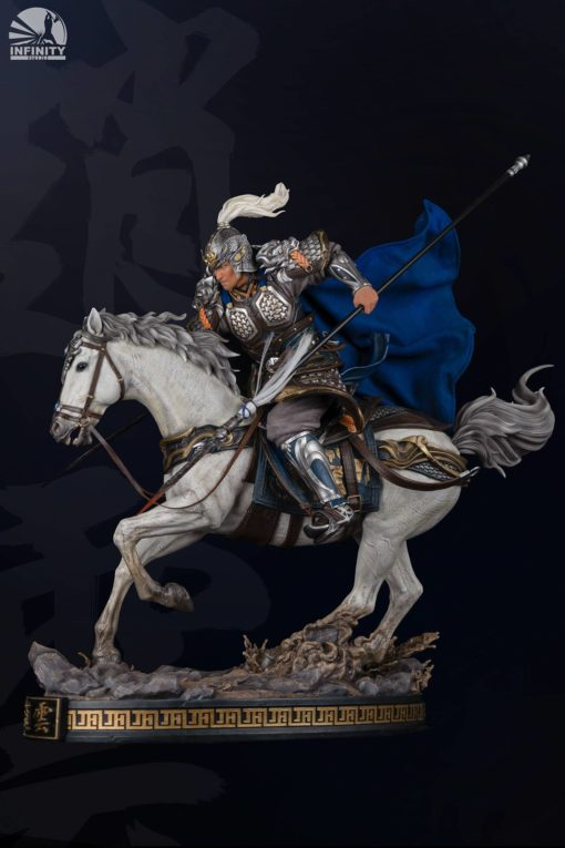 Three Kingdoms: Five Tiger Generals Series Statue Zhao Yun Ver2.0 Elite Edition 81 cm