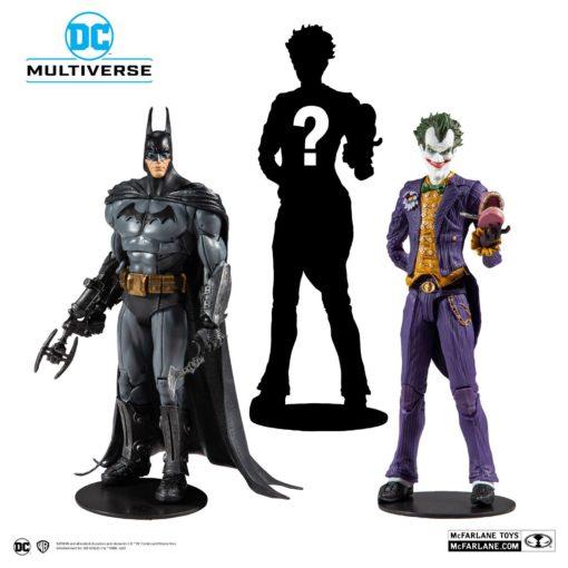 Batman Arkham Asylum Action Figures 18 cm Assortment (6)