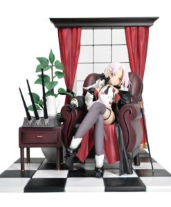 Warship Girls R PVC Statue 1/7 Vittorio Veneto Pitch-Black Oath Deluxe Version 16 cm